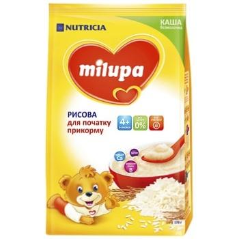 Каша Milura рисовая безмолочная 170г