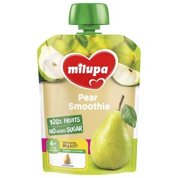 Пюре фруктовое Milupa Груша для детей с 6 месяцев 80г