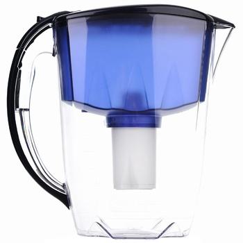 Глечик Аквафор Ідеал 2,8л синій - купить, цены на Ашан - фото 1