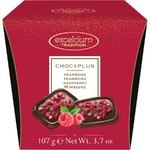 Конфеты Excelcium шоколадные с малиной 107г