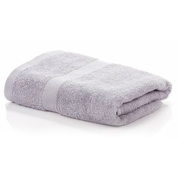 Zastelli Terry Towel Cotton Grey 70x130cm - buy, prices for MegaMarket - image 1