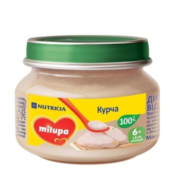 Пюре мясное Milupa Цыпленок для детей от 6 месяцев 80г