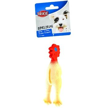 Игрушка Trixie Цыпленок для собак 15см - купить, цены на СитиМаркет - фото 1