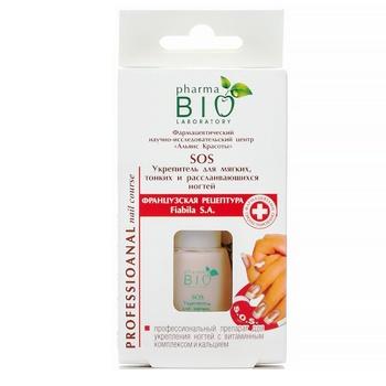 Укрепитель для ногтей Bio Pharma для мягких, тонких и расслаившихся ногтей 12мл