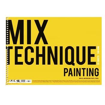 Альбом для рисования Muse пружина А4 20 листов - купить, цены на Метро - фото 1