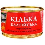 Кільки Fish line обсмажені в томатному соусі 240г - купити, ціни на Novus - фото 1