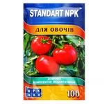 Standart NPK Water Soluble Fertilizer For Vegetables 100g