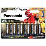Panasonic Battery Rang AA 10pcs - buy, prices for Auchan - photo 1