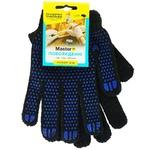 Перчатки MasterОК трикотажные черные 9р M