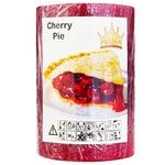 Свеча Pragnis цилиндр вишневый пирог 55X8см