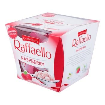 Candy Rafaello raspberry 150g