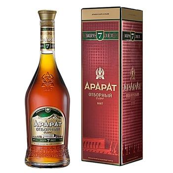 Ararat Selected 7 Yrs Cognac 40% 0.7l - buy, prices for Novus - image 1