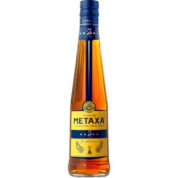 Бренди Metaxa 5* 38% 0.5л