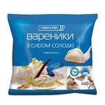 Hercules frozen with cottage cheese sweet vareniki 400g