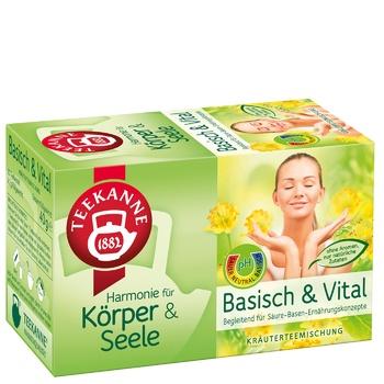 Teekanne Basisch & Vital herbal tea 20pcs 2g - buy, prices for MegaMarket - image 1