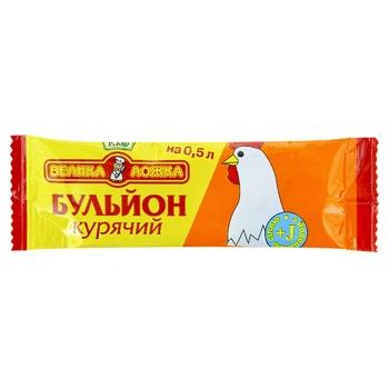 Бульйон курячий Велика ложка 10г - купити, ціни на Novus - фото 1