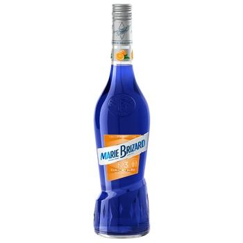 Лікер Marie Brizard Curacao Bleu 25% 0,7л - купити, ціни на Фуршет - фото 1