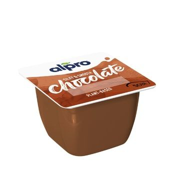 Alpro with Lactose-Free Chocolate Soy Dessert 125g - buy, prices for CityMarket - photo 1