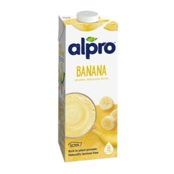 Напиток Алпро соевый со вкусом банана 1л - купить, цены на Космос - фото 1