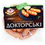 Сосиски Фарро Докторские высший сорт - купить, цены на Фуршет - фото 1