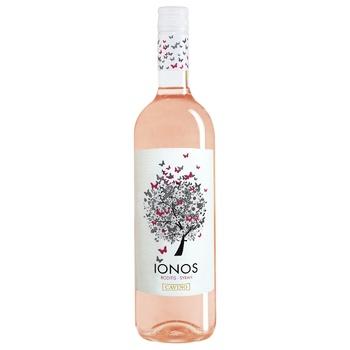 Вино Cavino Ionos розовое сухое 11,5% 0,75л