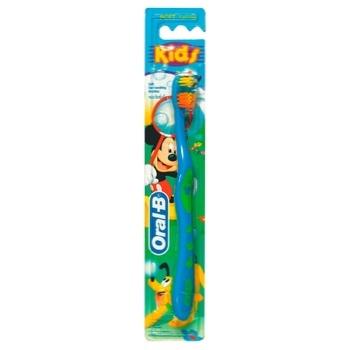 Зубная щетка Oral-B Kids Детская мягкая - купить, цены на Восторг - фото 1