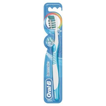 Зубна щітка Oral-B Комплекс Глибоке Чищення середня 2шт - купити, ціни на Ашан - фото 3