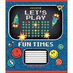 Тетрадь Yes Smiley Fun Times А5 12 листов косая линия