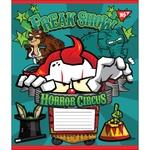 Тетрадь Yes Horror Circus в косую линию А5 12 листов