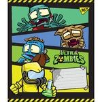 Тетрадь Yes Ultra Zombies в косую линию А5 12 листов