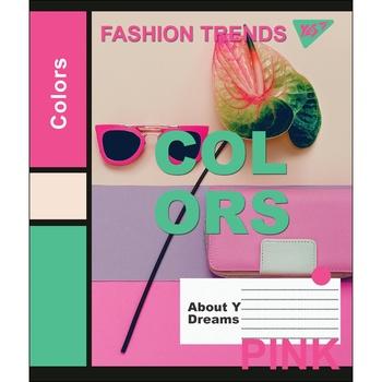 Тетрадь Yes Colors школьная А5 24 страниц клеточка