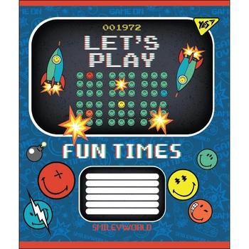 Зошит Yes Smiley Fun Times школьный А5 24 страниц клеточка