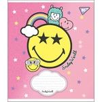 Тетрадь школьная Yes Smiley Llama А5 18 страниц клеточка