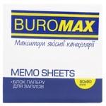 Блок Buromax бумажный для заметок 80Х80Х50мм