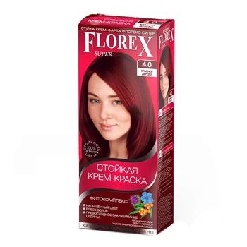 Florex Hair Cream Paint Mahogany