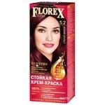 Крем-краска Florex для волос цвет спелая вишня