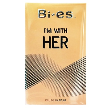Bi-es Im With Her Toilet Water Women's 100ml - buy, prices for Auchan - photo 1