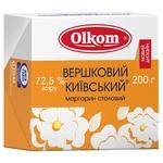 Маргарин Олком Вершковий Київський 72,5% 200г
