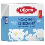 Маргарин Олком Молочный Киевский 70% 200г - купить, цены на Фуршет - фото 1
