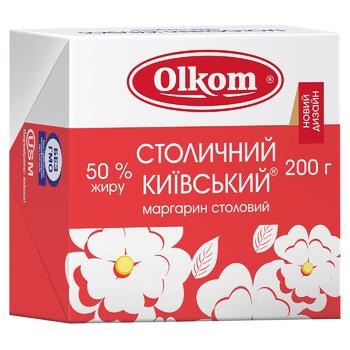 Маргарин Олком Столичный Киевский 50% 200г - купить, цены на Ашан - фото 2