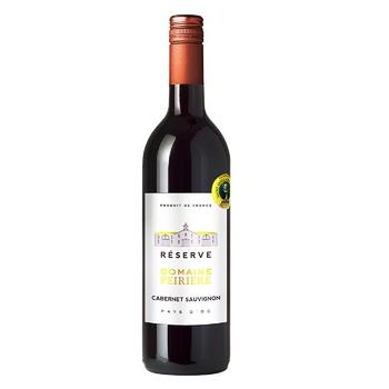 Вино Domeine Peirere Cabernet-Sauvignon красное сухое13% 0.75л - купить, цены на Ашан - фото 1