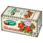 Чай Карпатский Чай Шиповник из плодов ягод и трав в пакетиках 20х2г