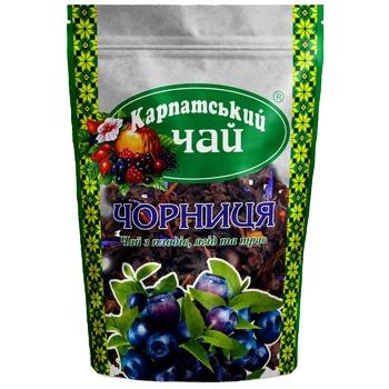 Чай Карпатский Чай Чорниця 100г - купити, ціни на Ашан - фото 1