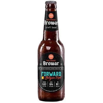 TM Volynski Browar Forward Unfiltered Light Beer 8% 0,35l - buy, prices for CityMarket - photo 1