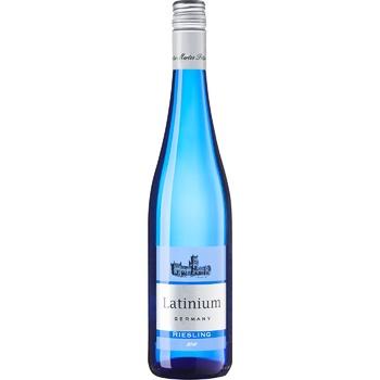 Вино Latinium Рислинг белое полусладкое 10% 0,75л - купить, цены на Фуршет - фото 1
