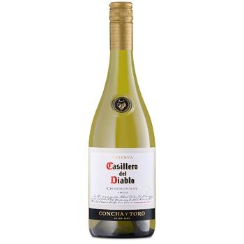 Casillero del Diablo Chardonnay white dry wine 13,5% 0,75l - buy, prices for CityMarket - photo 1