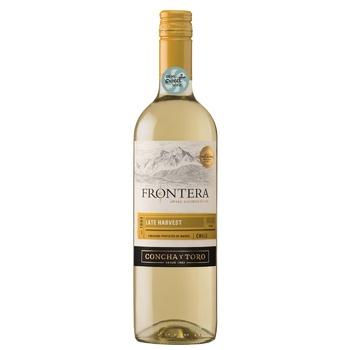 Вино Frontera Late Harvest белое сладкое 12% 0,75л - купить, цены на СитиМаркет - фото 1