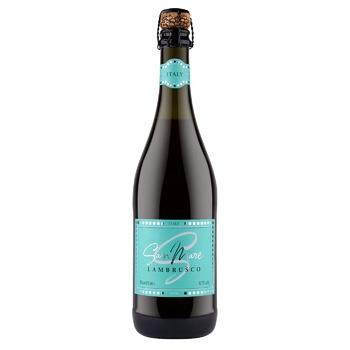 Вино San Mare Lambrusco красное полусладкое 8% 0,75л