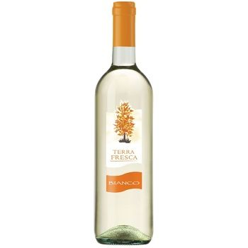 Terra Fresca Bianco white semi-dry wine 10,5% 0,75l