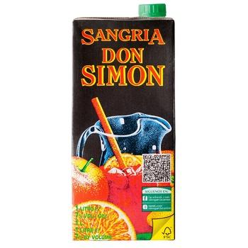 Вино Don Simon Sangria червоне солодке 7% 1л - купити, ціни на Восторг - фото 1